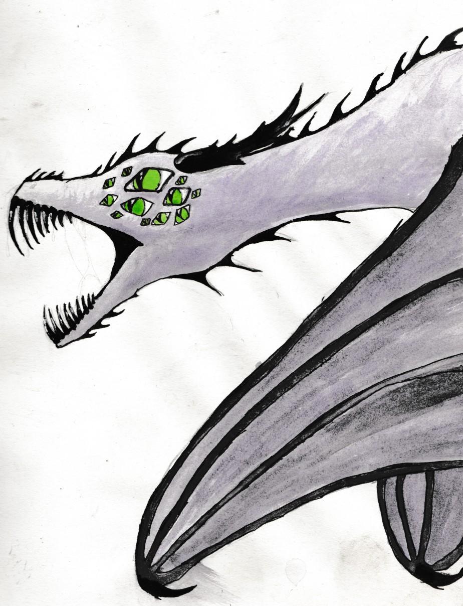 many eye dragon